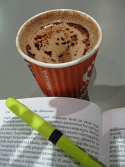 picture of coffee book highlighter