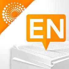 picture of computer with orange EN signifying Endnote on top