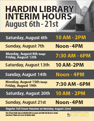 Interim hours