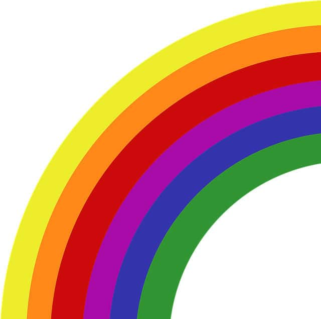 picture of gay pride rainbow