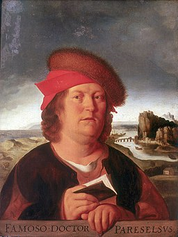 painting of Paracelsus