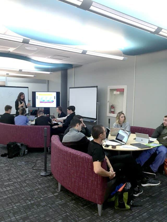 image of learning lounge in East Commons