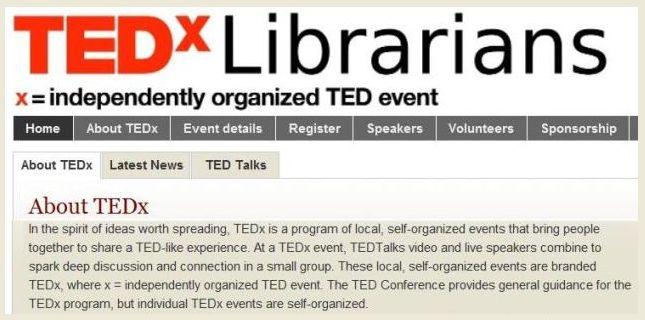TEDxLibrarians285