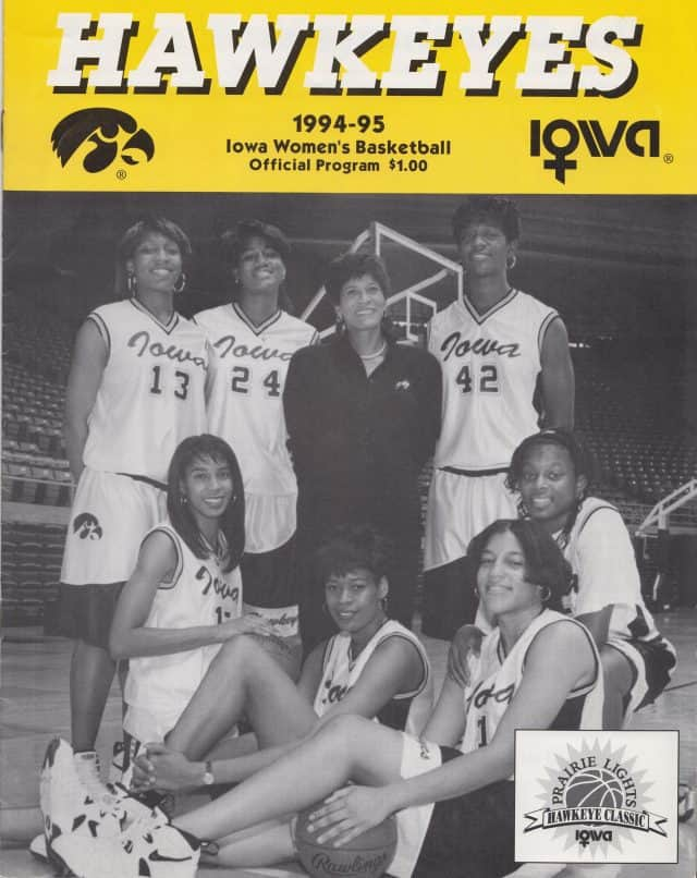 Iowa Hawkeyes 1994-1995 Game Program