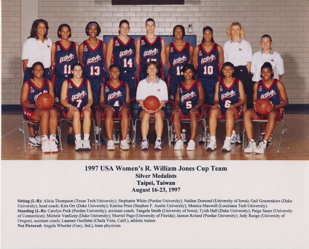 1997 USA Jones Cup Team