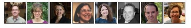 headshots of librarians