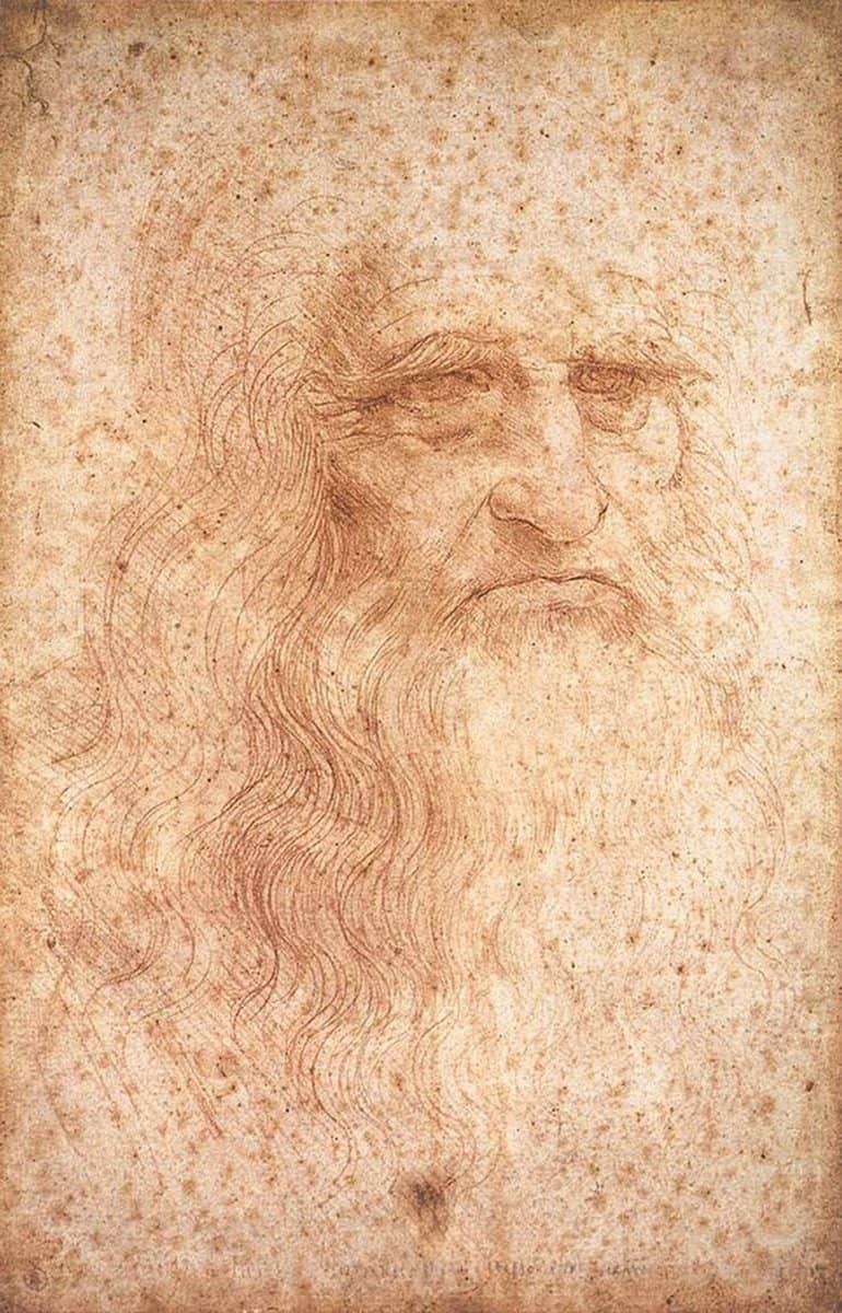 Leonardo da Vinci Drawings - Windsor Castle Royal Library