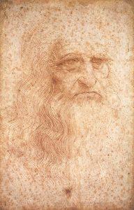 drawing of Da Vinci