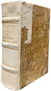 vellum bound book