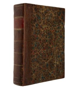 book covered with velum binding