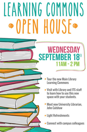 Learning Commons Open House