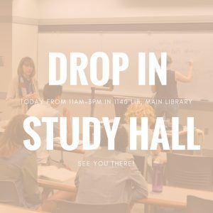 Drop-in Study Hall