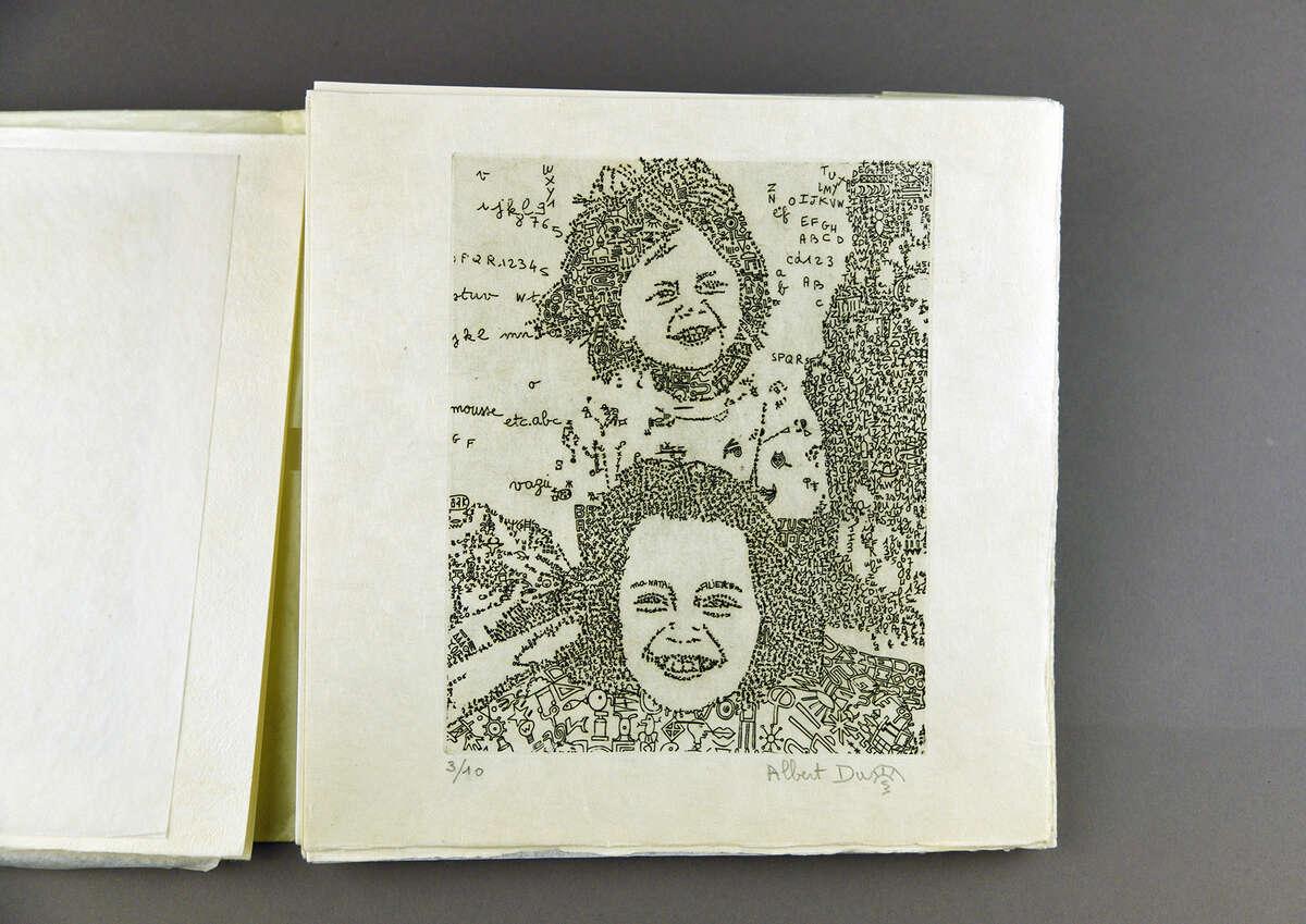 Print by Albert Dupont