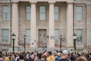 Black Lives Matter protest at Old Capitol