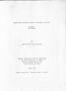 title page of lasocki thesis