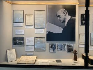 Mitropoulos Exhibit First Display Case