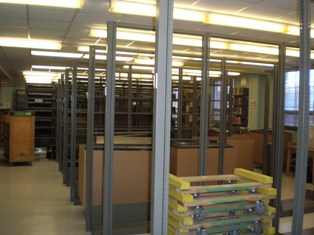 Physics Library Shelving