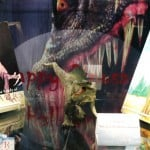 Halloween Dinosaur Display - Second Shelf