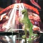 Halloween Dinosaur Display - Fourth Shelf