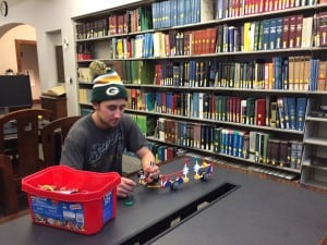 #2 Need a break? Build something with our K'Nex set!