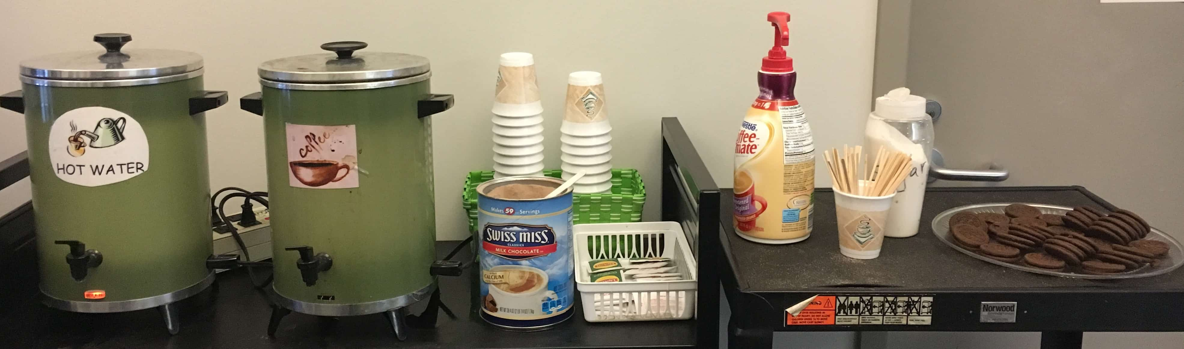 Coffee And Treats ~ Finals sciences library news