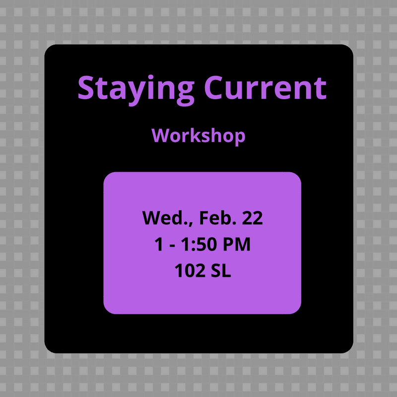 Staying Current Workshop