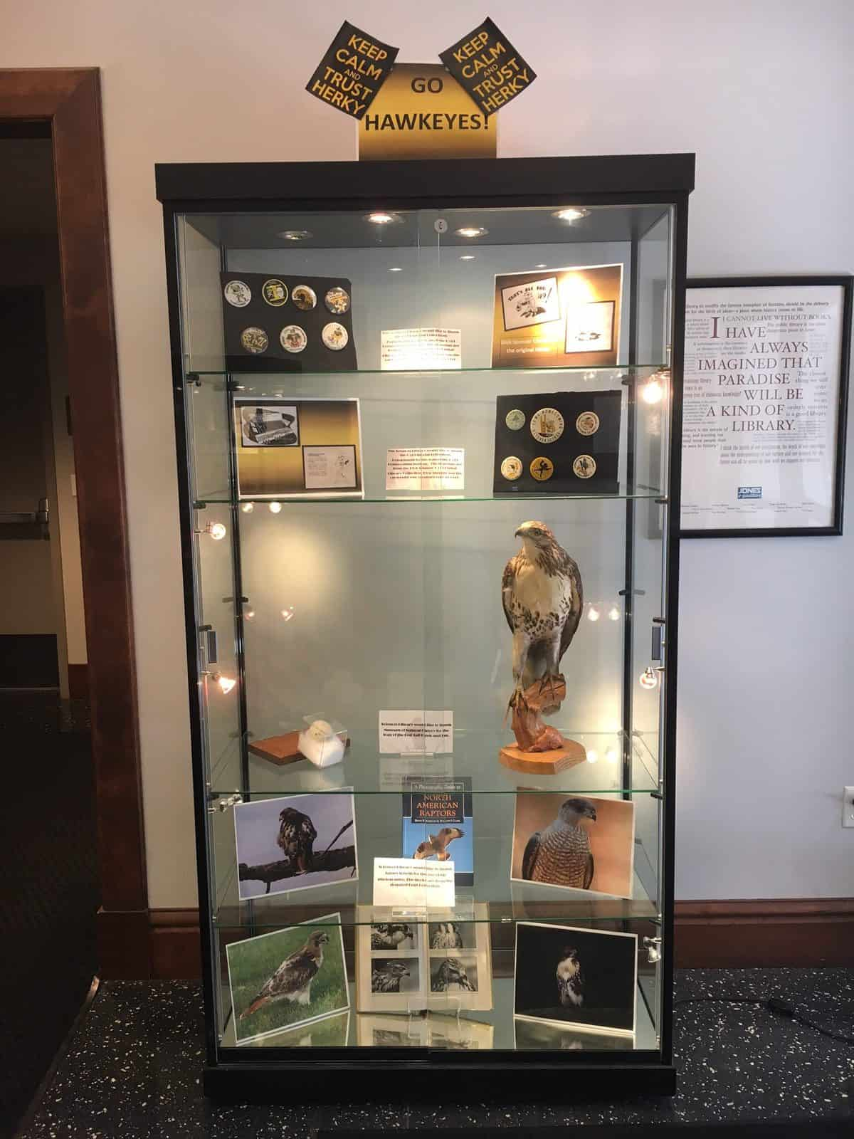 Hawk Exhibit Case 1