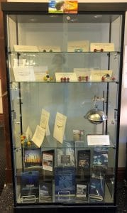 climate change display case