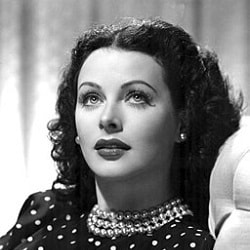 Image of Hedy Lamarr publicity photo for the film The Heavenly Body, 1944
