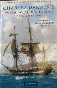 Image of book cover Charles Darwin Notebooks from the Voyage of the Beagle