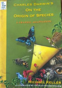Image of book cover On the Origin of Species a Graphic Adaptation
