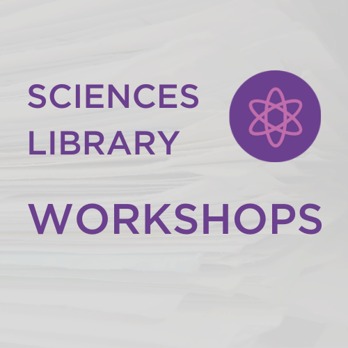 Sciences Library Workshops