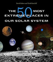 Cover image of The 50 most extreme places in our solar system