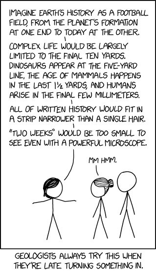 Image of Geologic Time xkcd comic