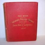 Women's Relief Corp book, 1897