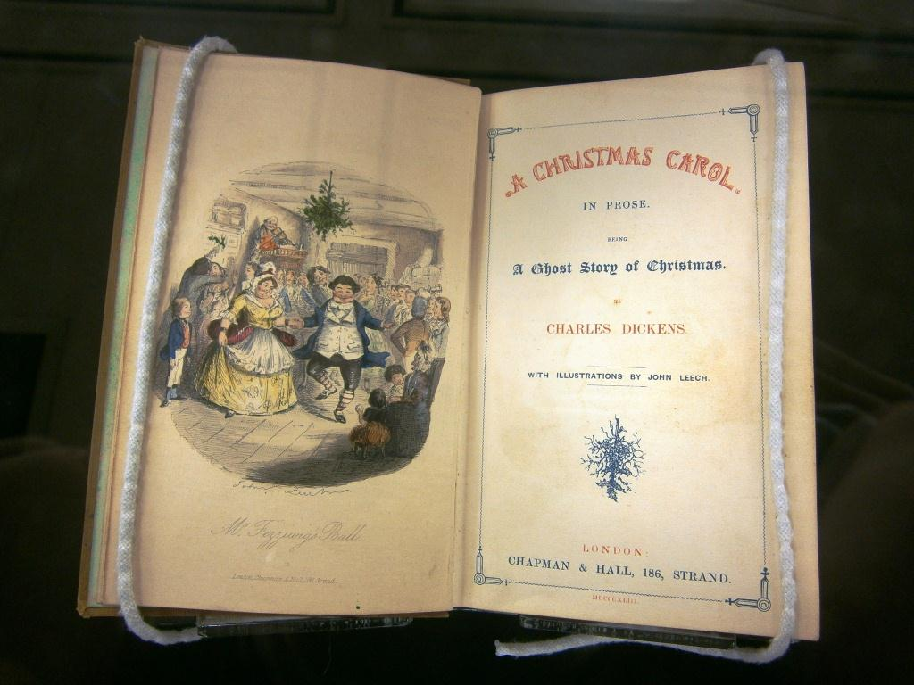 Charles Dickens' A Christmas Carol on Display in Special Collections – News & Announcements