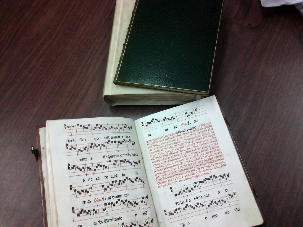 """New"""" Incunables Arrive in Special Collections – News   Announcements b92d23bb385d"""