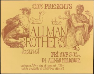 Allman Brothers event poster