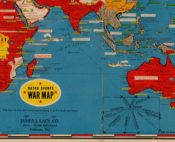 World War II Map of Occupied Countries – News & Announcements