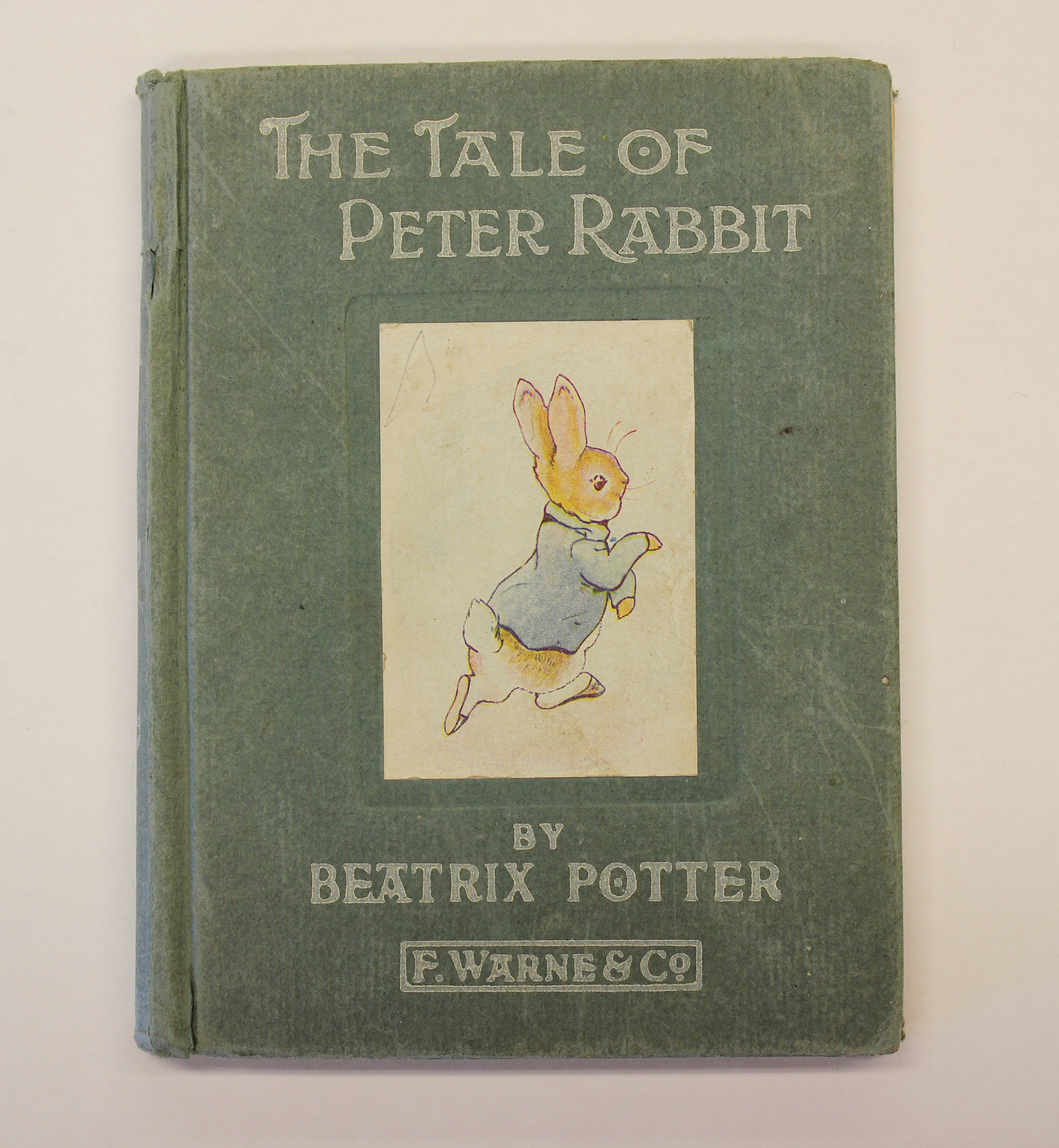 First Edition of The Tale of Peter Rabbit- The University of Iowa ...