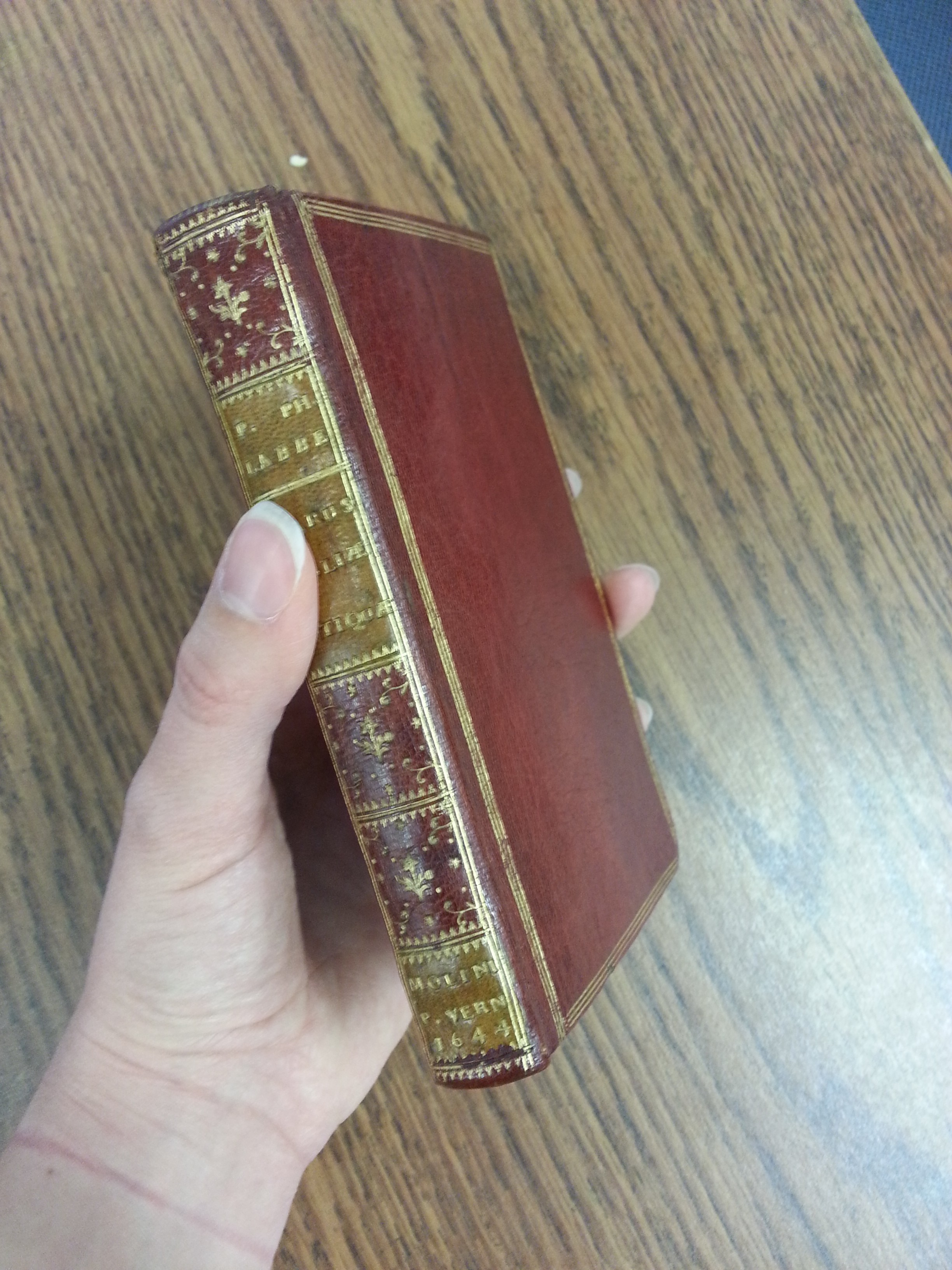 The Gazetteer book binding