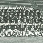 1960 U I Football Team Photo