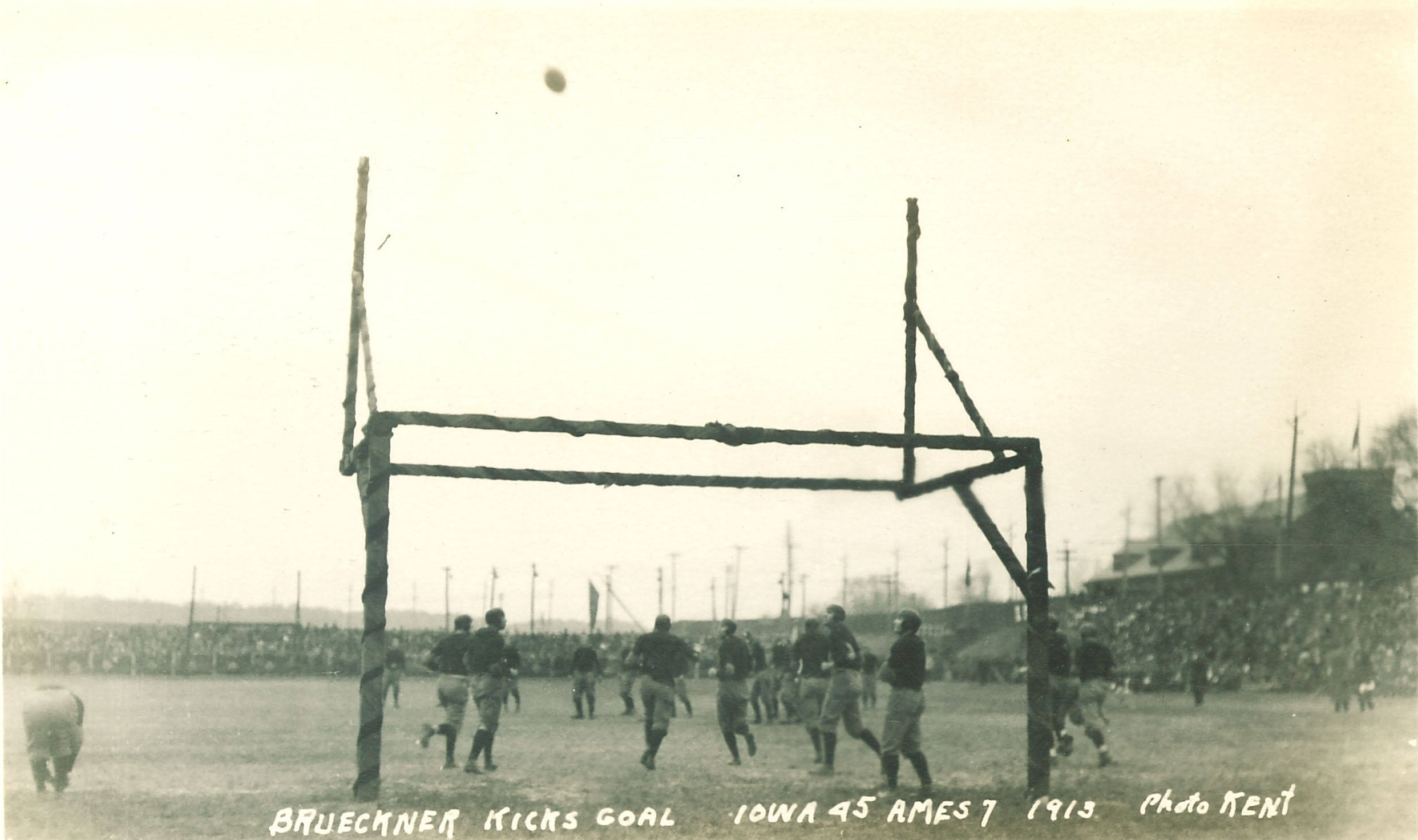 1918 football game fieldgoal