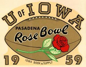 Rose Bowl sticker