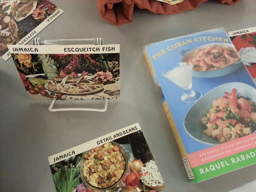 Image showing 1970s recipe cards