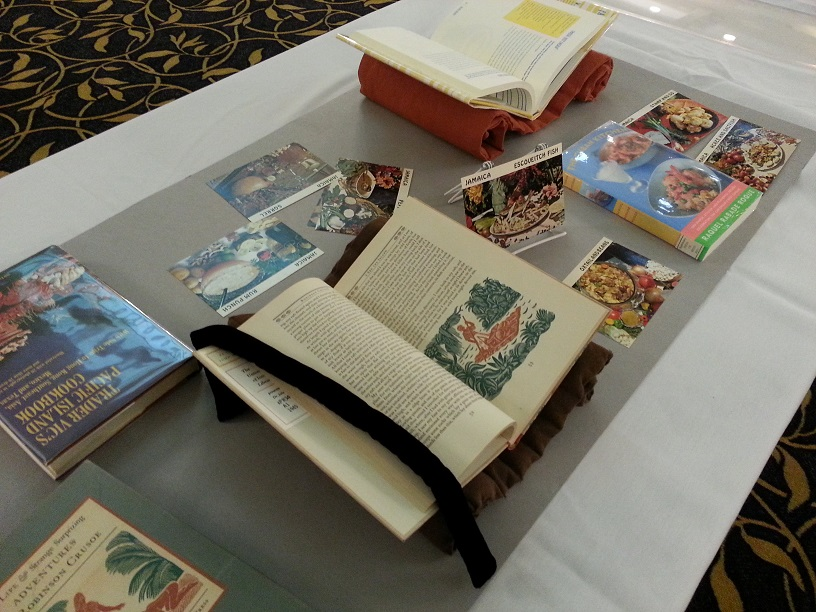 Image showing books in a display