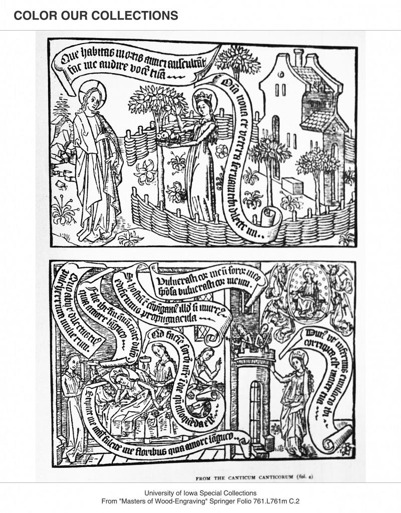 Canticum Coloring image