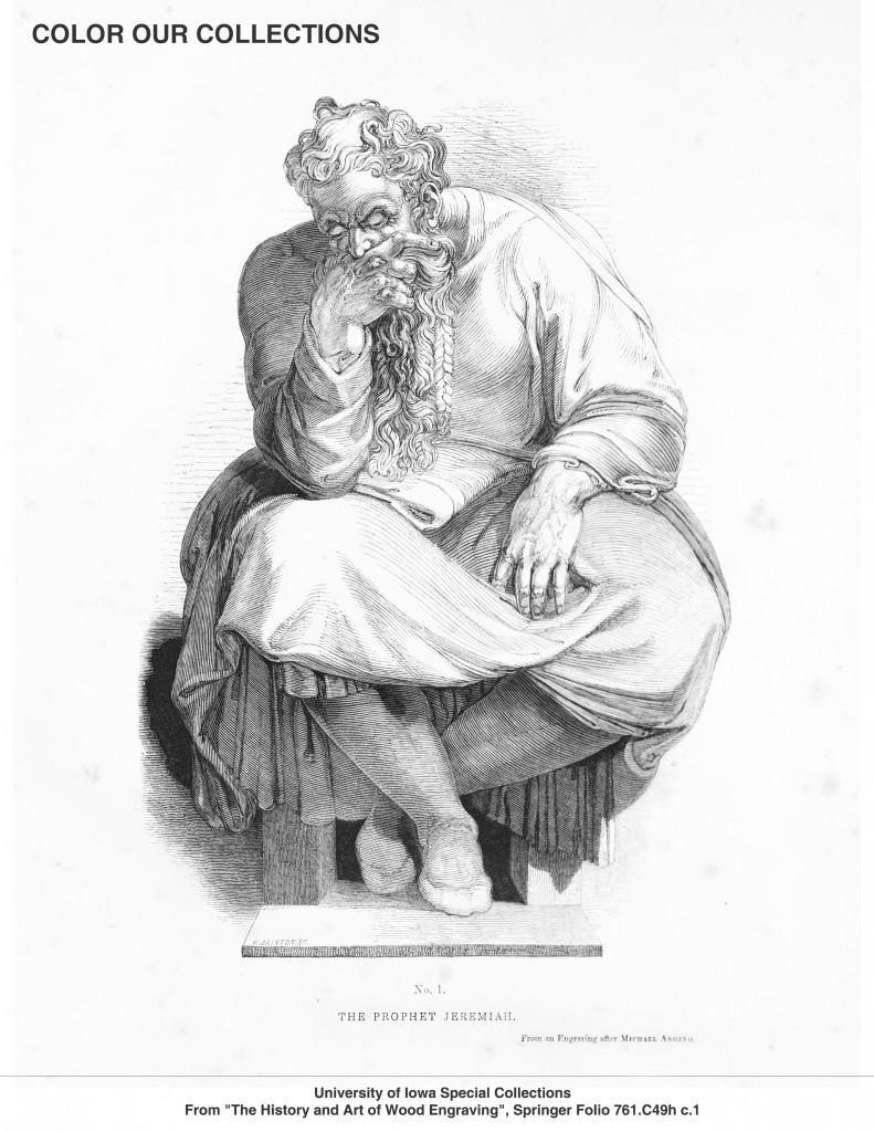 Jeremiah coloring image
