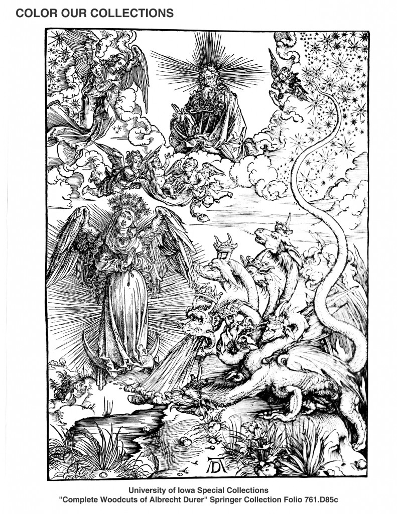 Durer image of dragons