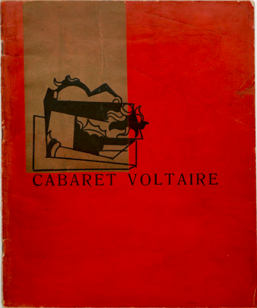 Cover of Cabaret Voltaire magazine